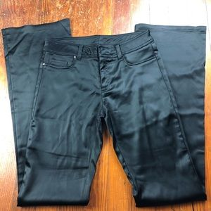 Cache Silky Low Rise Flared Pants